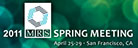 MRS Sprin 2011 logo