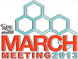 Logo for APS March Meeting 2013 March 18 - March 22 Baltimore, Maryland