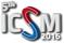 ICSM 2016 logo