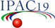10th International Particle Accelerator Conference (IPAC19),  logo