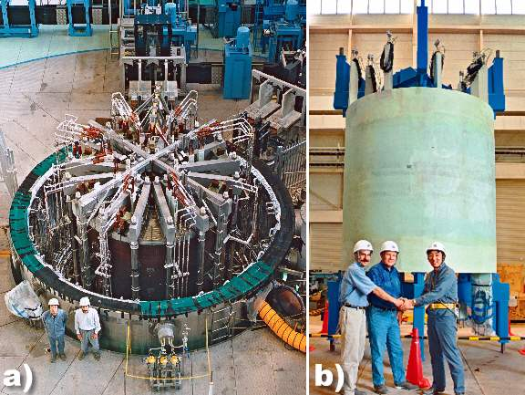 Very Large Fusion Magnets